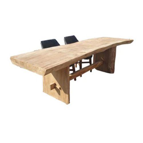 Eetkamertafel suar boomstam designer meubelen cruquius haarlem - Eetkamer tegel ...