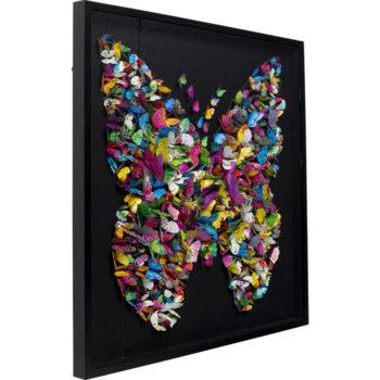 Schilderij vlinders - Livik meubelen
