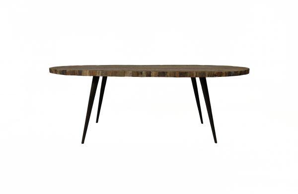 Eetkamertafel Bassano Ovaal - Livik meubelen