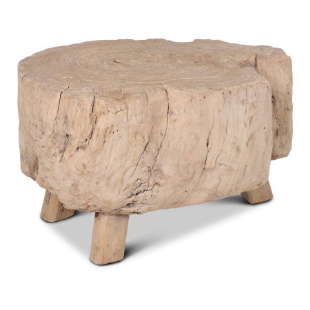 Salontafel Slachtblok hout - Livik meubelen