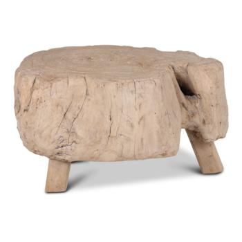 Salontafel Slachtblok hout