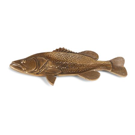 Schaal vis goud - Livik meubelen