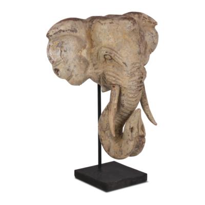 Snijwerk Olifant - Livik meubelen