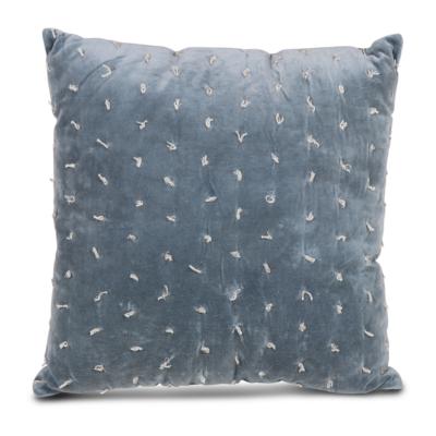 Sierkussen Leaf blauw - Livik meubelen
