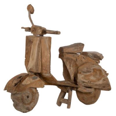 Livik meubelen Scooter Teak hout