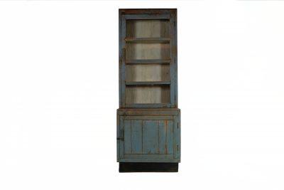 Vitrinekast Old Blue - Livik meubelen