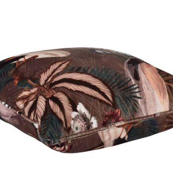 Sierkussen Bordeaux Bruin 60x60cm. - Livik meubelen