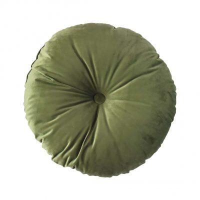 Sierkussen ø 50 cm London green - Livik meubelen
