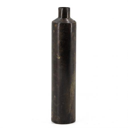 Metalen fles bruin - Livik meuben