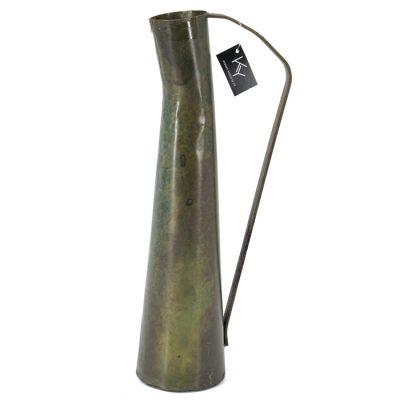 Vaas met oor brons - Livik meubelen