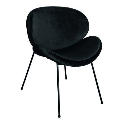 Eetkamerstoel Janne Zwart - Livik meubelen