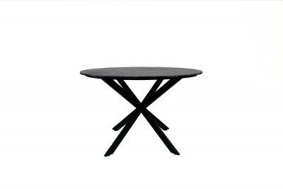 Eetkamertafel Jacky marble black - Livik meubelen