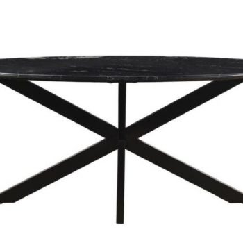 Eetkamertafel marmer ovaal - Livik meubelen